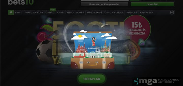 Bets10'den Rusya Tatili